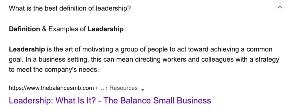 leadership in ux